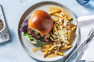Steak Spiced Burgers image