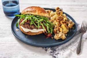 Caramelized Onion Burgers image