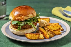 Tikka-Style Lamb Burgers image