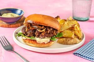 Italian Beef Burger image