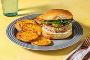Jalapeño Popper Pork Burger image