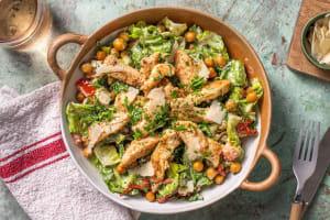 Caesar Salad mit mariniertem Hähnchen image