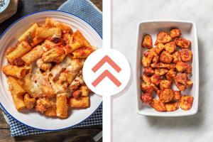 Cajun Chicken Breast, Chorizo and Tomato Pasta image