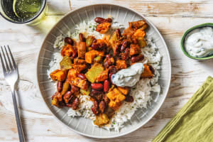 Cajun Spiced Roasted Vegetable and Chicken Stew image