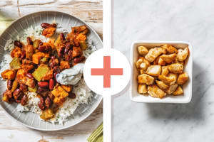 Cajun Spiced Roasted Vegetable Stew with Chicken Breast image
