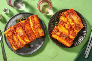 Cannelloni met romige spinazie-champignonvulling image