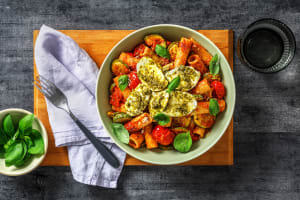 Caprese Pasta with Fresh Mozzarella image