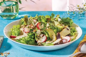 Caramelised Pear & Radish Salad image