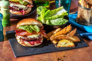 Venison Cheese Burger and Bacon image