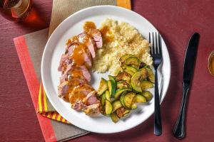 Carb Smart Roasted Pork Tenderloin image