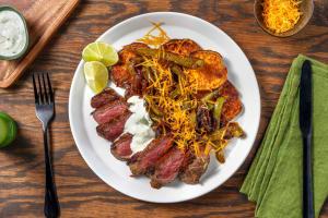 Carb Smart Steak Fajita Plate image