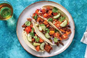 Quick Black Bean & Pineapple Tacos image