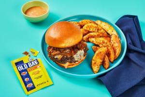 Cheddar Wonderburgers & OLD BAY® Fries image