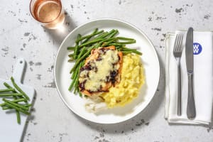Cheese and Caramelised Onion Chicken image