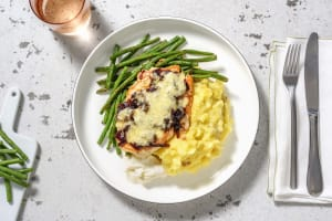 Cheese and Caramelised Onion Chicken and Bacon Lardons image