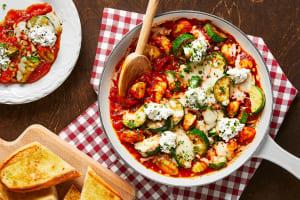 Cheesy Baked Gnocchi image