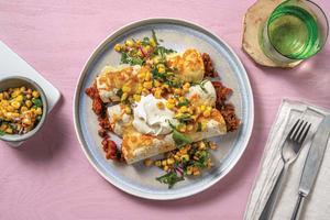 Mexican Beef & Cheese Enchiladas image