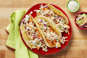 Cheesy Buffalo Chicken Tacos image
