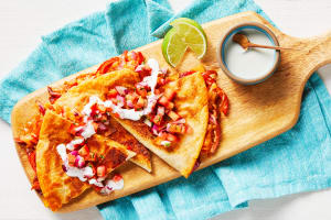 Cheesy Chipotle BBQ Quesadillas image