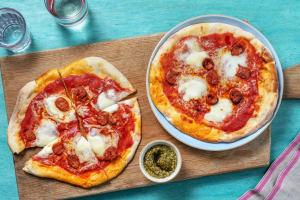 Cheesy Chorizo Pizza image