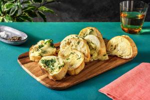 Cheesy Hasselback Garlic Bread image