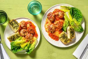 Cheesy Meatball Parmigiana image