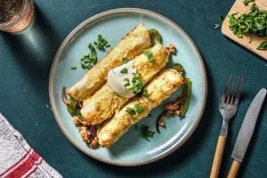 Cheesy Pork Enchiladas and DIY Enchilada Sauce image