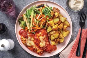 Cheesy Tomato & Spiced Chicken image