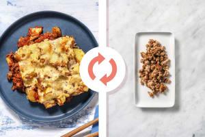 Cheesy Turkey Potato Casserole image