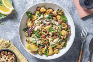 Chermoula Cauliflower & Freekeh Bowl image