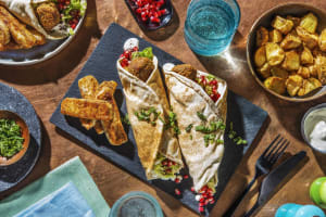 Falafel Flatbreads and Halloumi Fries image
