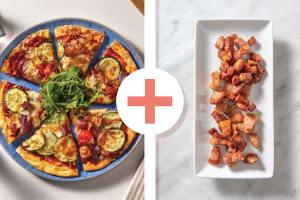 Cherry Tomato, Bacon & Sage Pizza image
