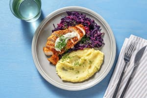 Chicken and Braised Cabbage image