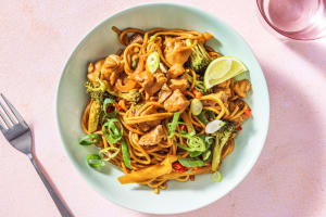 Chicken and Peanut Butter Noodles image