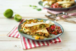 Chicken and Pineapple Quesadillas image