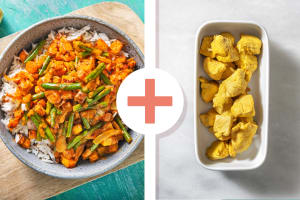 Chicken and Roasted Butternut Squash Curry image