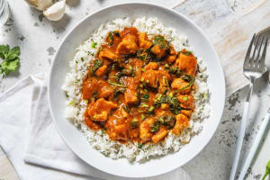 Chicken and Spinach Curry image