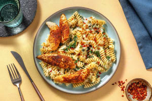 Chicken and Spinach Pasta image