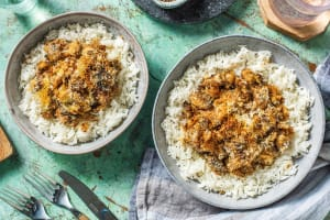 Chicken Breast and Mushroom Crumble image