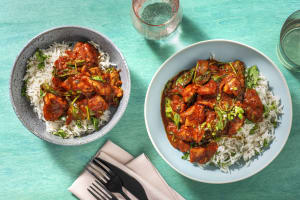 Chicken Breast and Spinach Curry image