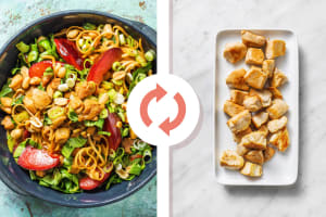Chicken Breast & Plum Noodle Stir-Fry image