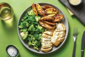 Chicken & Creamy Chive Sauce image