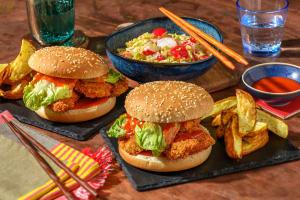 Chicken Katsu Burger image
