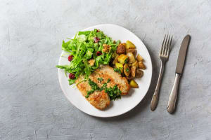 Lean Mean Chicken and Greens image