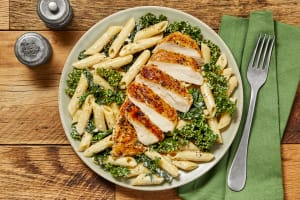Chicken Penne in a Parmesan Cream Sauce image