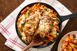 Chicken & Penne Pomodoro Skillet image
