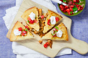 Chicken Pineapple Quesadillas image