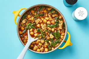 Chicken Sausage, Spinach & Chickpea Soup image