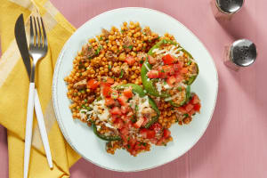 Chicken Sausage Stuffed Peppers image