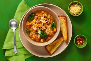Chicken Sausage & Sweet Potato Soup image